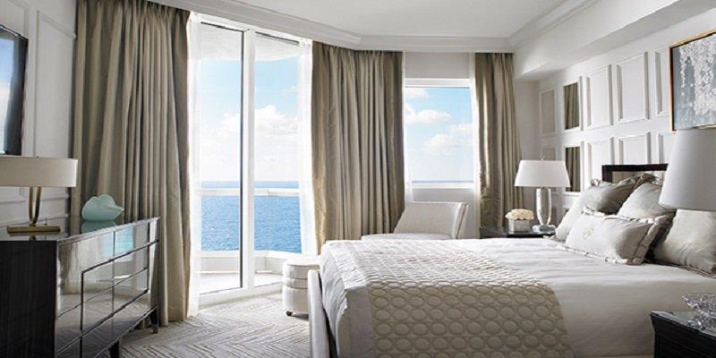 Acqualina Resort in Sunny Isles Beach Deluxe One-bedroom Oceanfront Hotel Suite